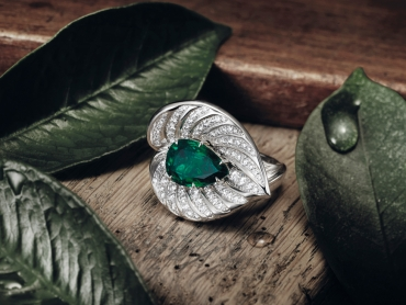 The Arum ring - a unique piece...