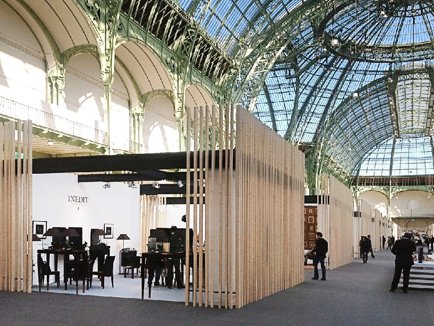 Inédit at the International Biennale of the Crafts of Art & Creation
